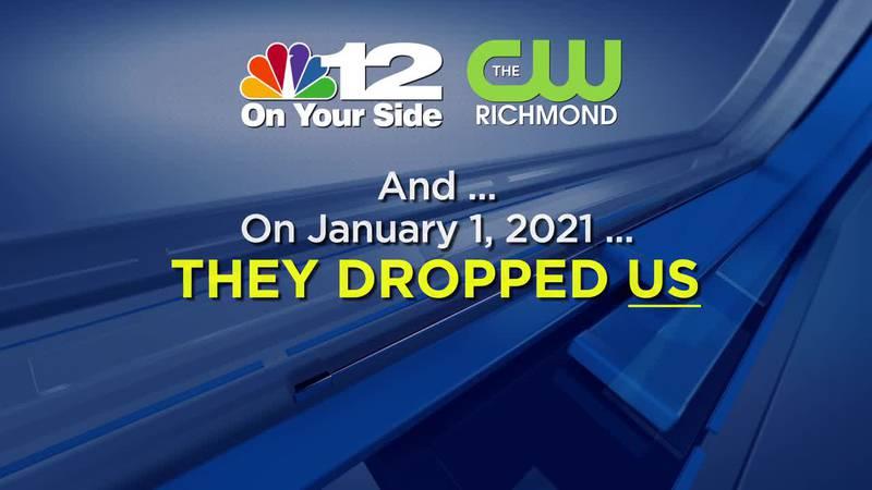 Verizon drops NBC12, CW Richmond from lineup amid negotiations