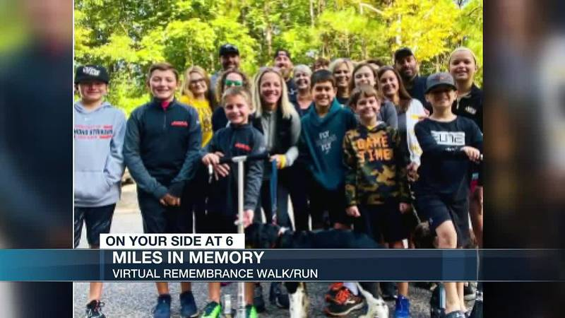 Miles in Memory: A walk to remember lost loved ones
