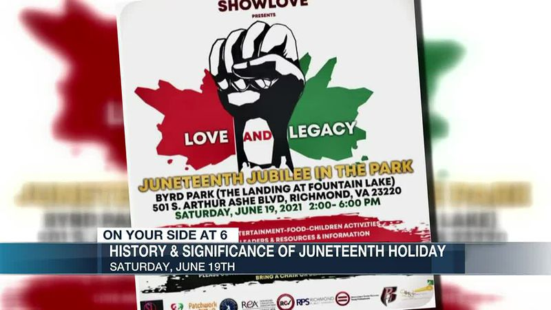 Multiple events planned to recognize history, significance of Juneteenth