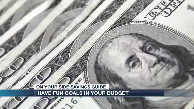 Here are some ways you can have fun goals in your budget