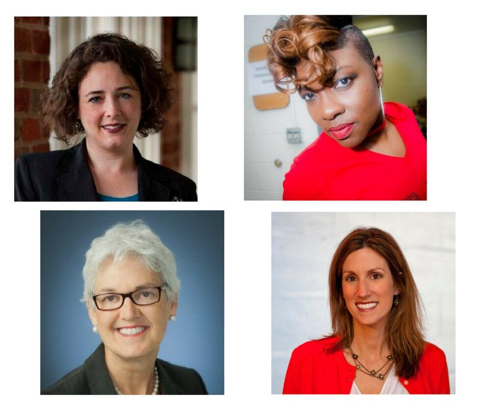 Heather Mullins Crislip, Clovia Lawrence, Jane Helfrich, Talley Baratka (Source: YWCA Richmond)