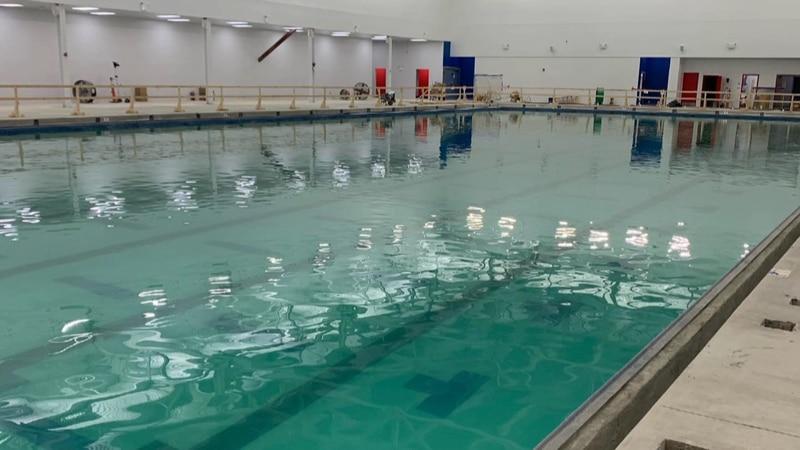 Water has been filled in all three pools at the new NOVA Aquatics Center at Regency.