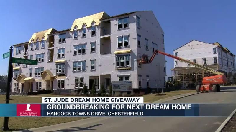 Groundbreaking for next Dream Home