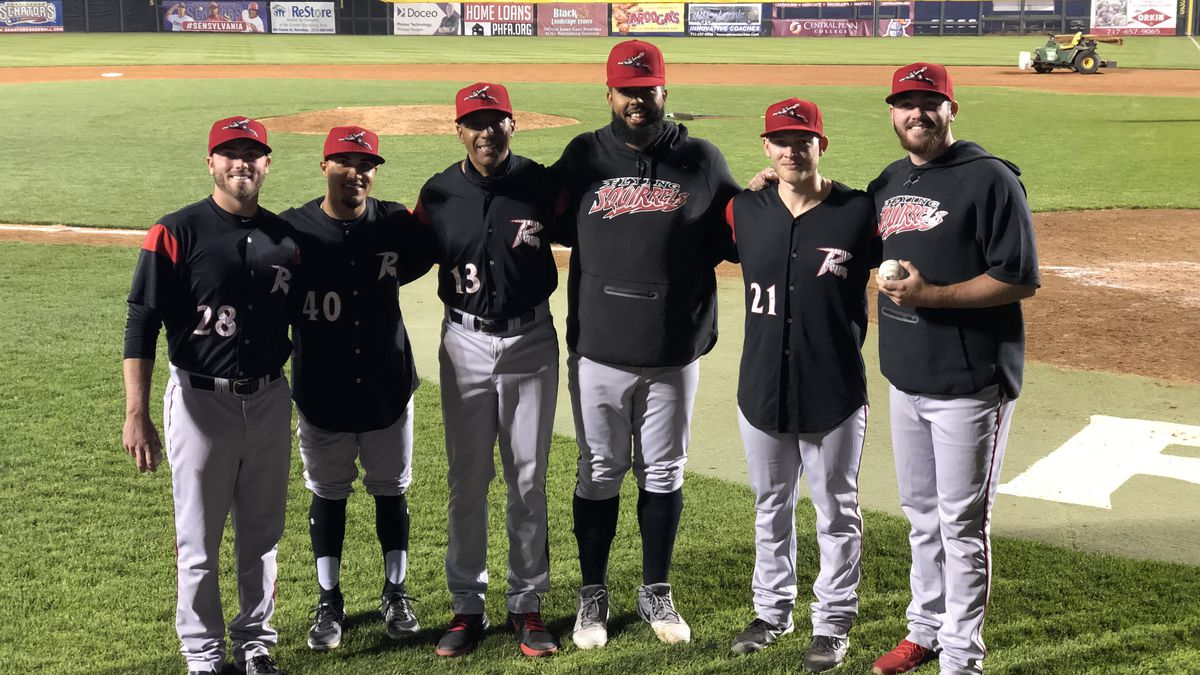 Four Richmond Flying Squirrels' pitchers combined to throw the franchise's first ever...