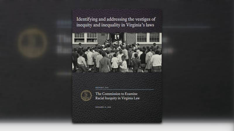 The Commission to Examine Racial Inequity in Virginia Law released its second report to the...