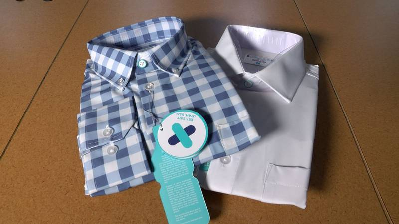 From ties and dress shirts to slacks and even shoes, AndCollar has married fashion and function...