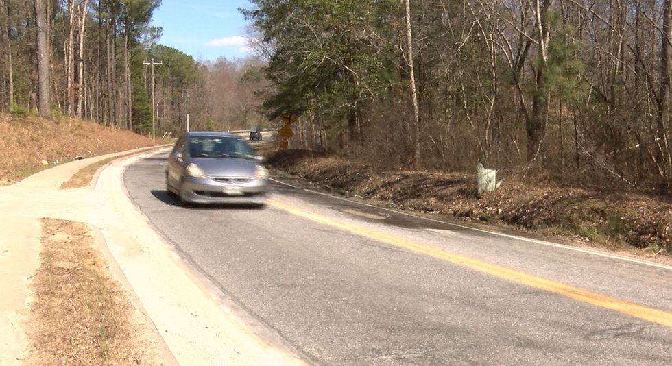 Residents say this wet patch of Beulah Road in Chesterfield is dangerous when temperatures dip...