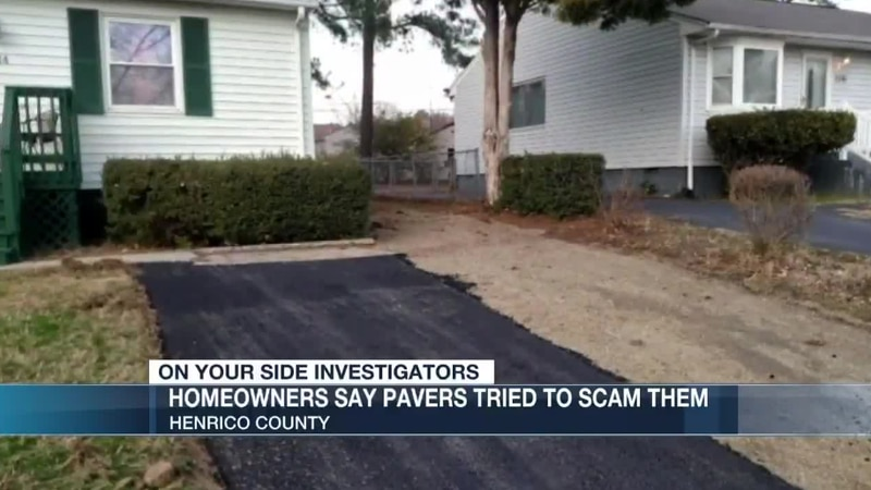 Search for driveway pavers who attempted to scam Henrico residents.