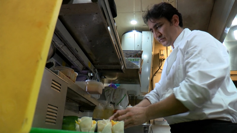 An Afghan native and Richmond chef is worried for his family living in Afghanistan as the...