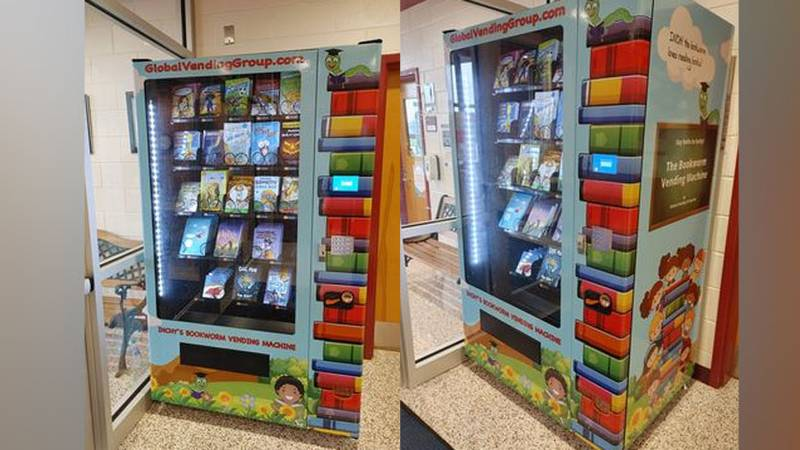 Students will earn a token to choose a free book as a reward for meeting their reading goals...