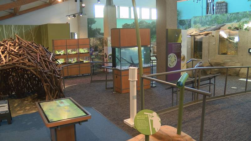 We're taking a look inside the newly renovated Robins Nature Center at Maymont - plus a list of...