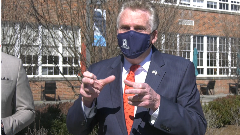 Terry McAuliffe, candidate for governor, rolls out healthcare plan with visit to Charlottesville.