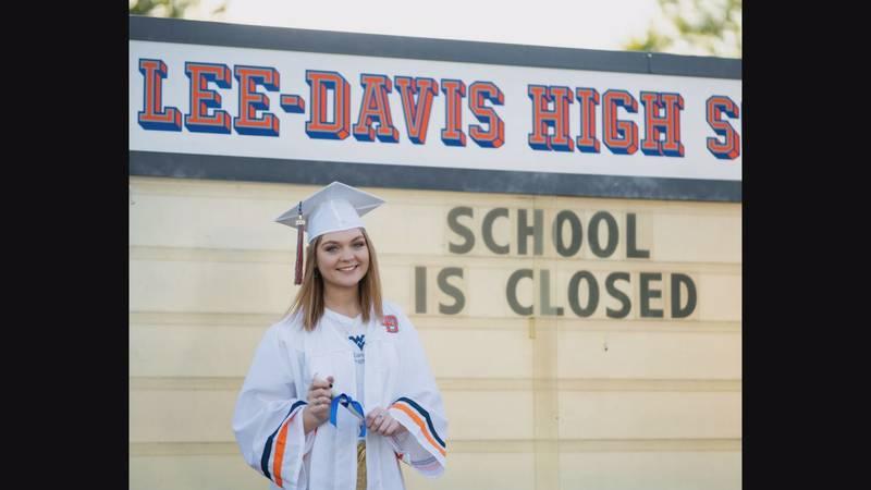 Lee Davis High School senior Adair Keener is set to attend West Virginia University on a dance...
