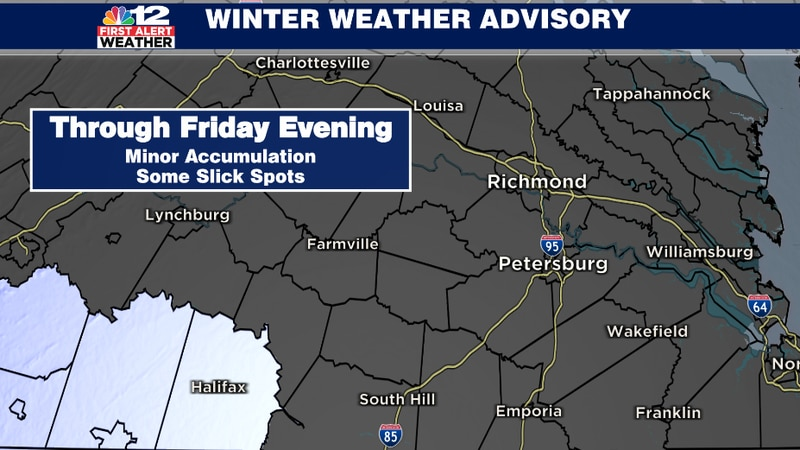 Be careful heading out onto the roadways south of town tonight & tomorrow morning