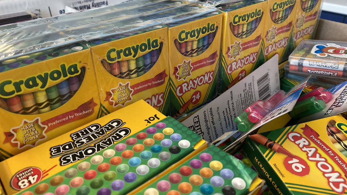 Back-to-school shopping is in full force with a tax-free weekend ahead.