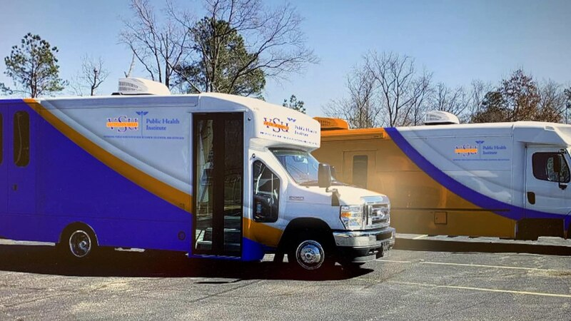Virginia State University unveils two new mobile clinics to help people in underserved...