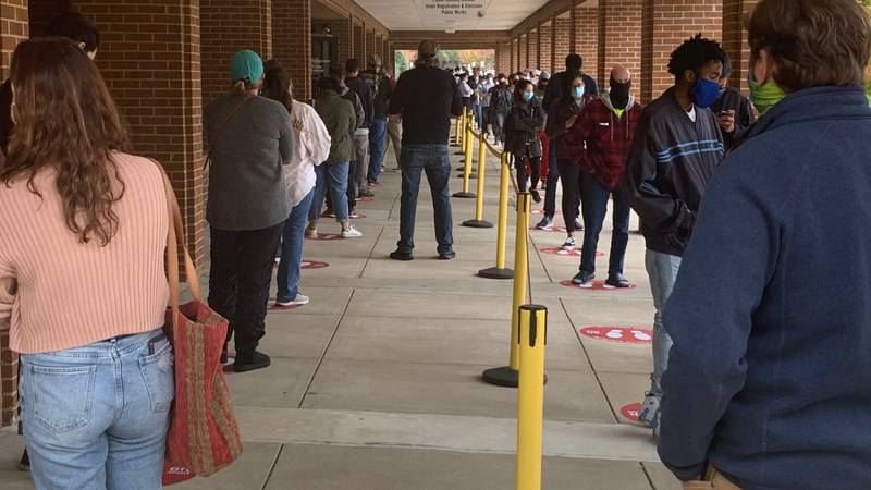 Voters on Election Day will be able to vote either inside or curbside.
