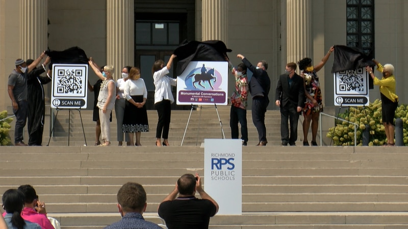 A new app is giving community members a tour of Monument Avenue through the lens of Black...