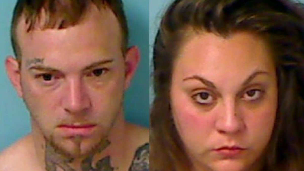 Naked Couple Arrested After Police Find Them Drinking Beer