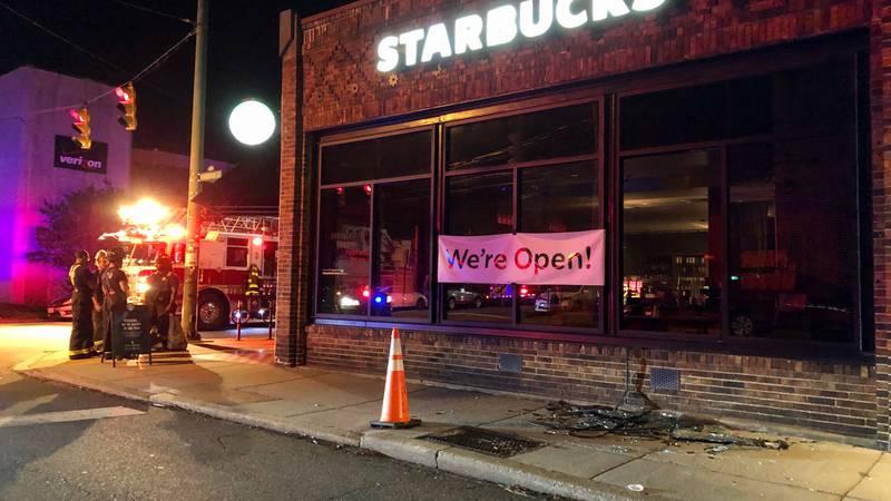 Starbucks vandalized on N. Robinson St., Richmond