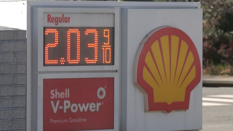 Gas prices across the commonwealth are the lowest they've been in four years around the...