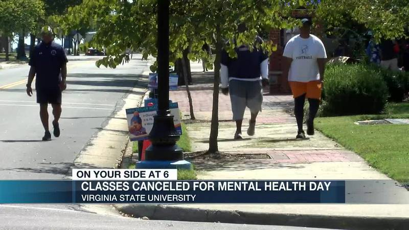 'It's a great idea': VSU cancels classes for students to prioritize mental health, self care