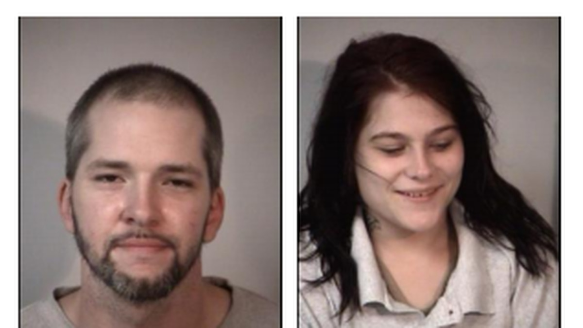 Two suspects were taken into custody Friday night in Stafford following a pursuit.