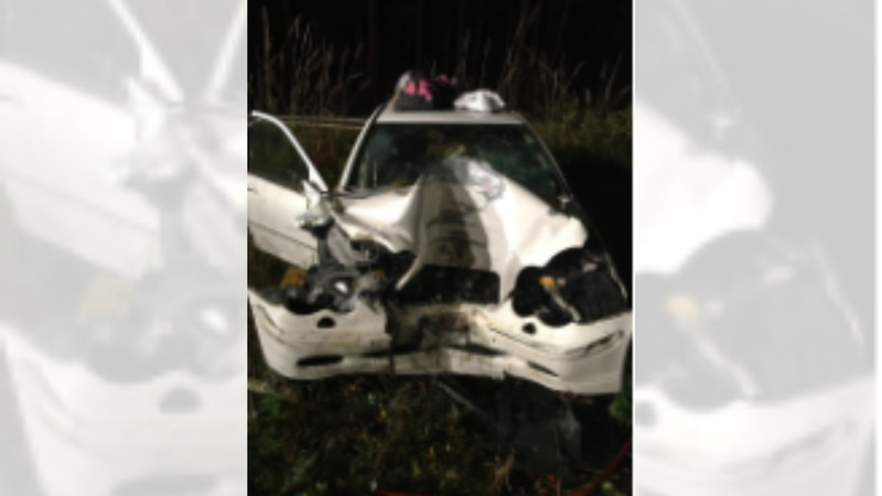Heather A. Schaberg, 27, was identified as the driver. She died on the scene from her injuries.