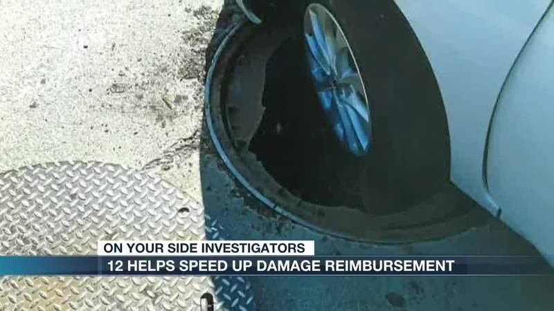 12 Helps speed up damage reimbursement
