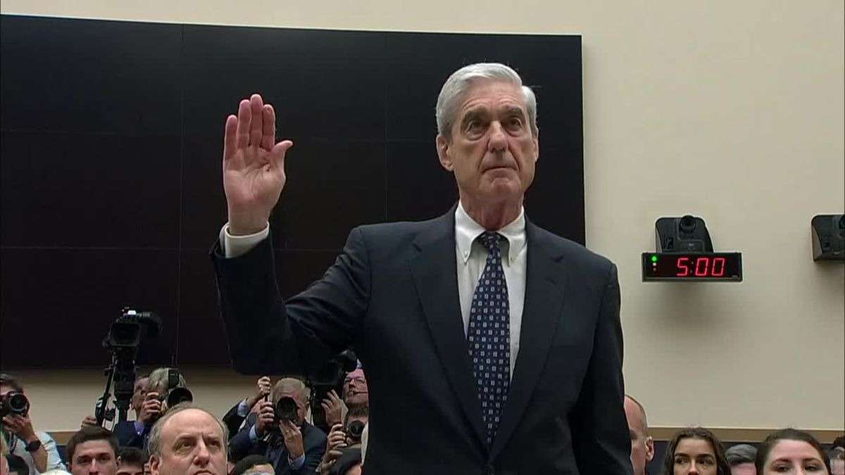 Lawmakers questioned Robert Mueller about his investigation into the 2016 Presidential Election...