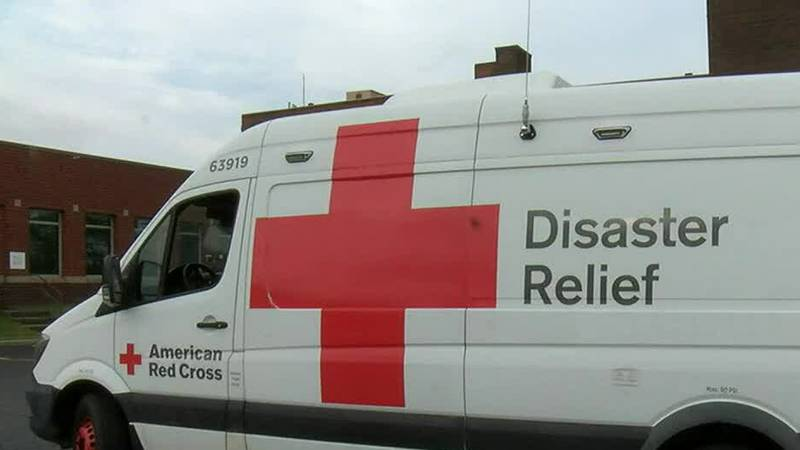 The American Red Cross is one of several agencies giving relief to Hurricane Ida victims.