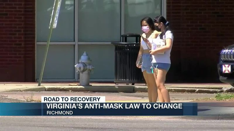 Northam to allow state of emergency to expire, mask law changes expected in August