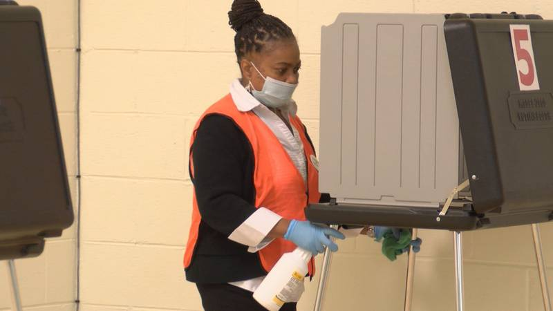Precincts taking precautions on Election Day.