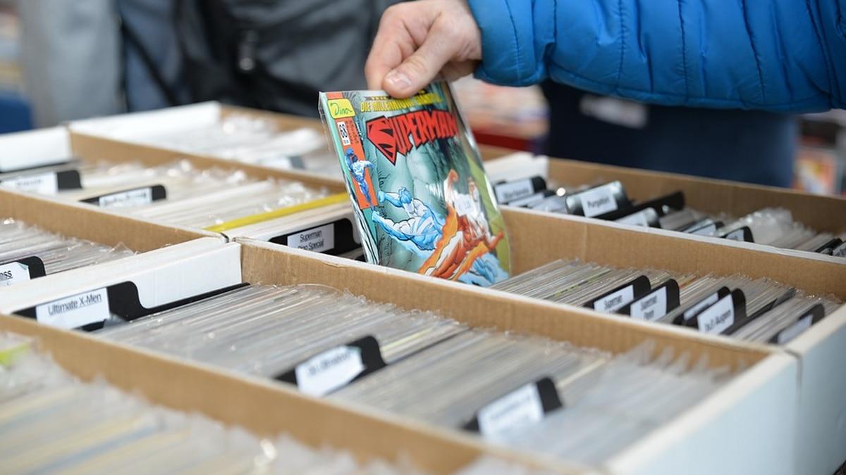 Comic books.