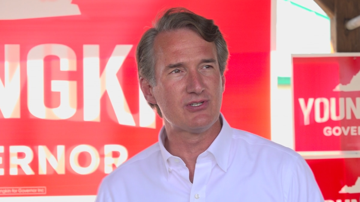 GOP gubernatorial nominee Glenn Youngkin and many other candidates for office are staying away...