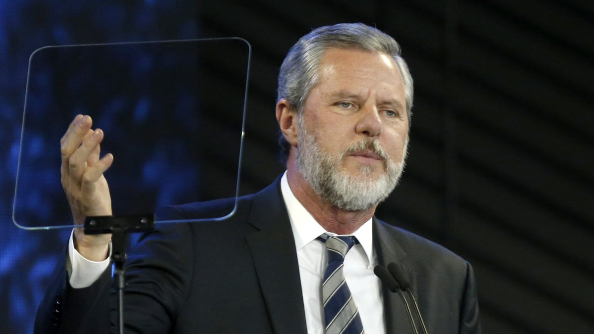 Jerry Falwell Jr. taking an indefinite leave of absence as president and chancellor of Liberty...