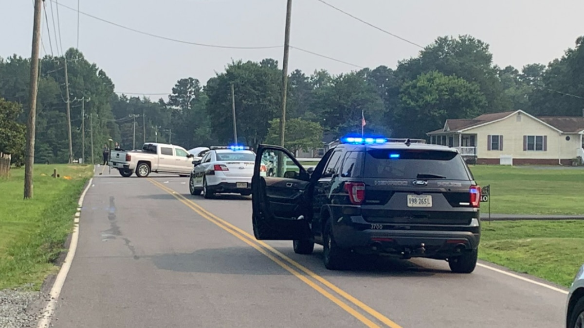 Henrico police said one person has died in a two-vehicle crash.