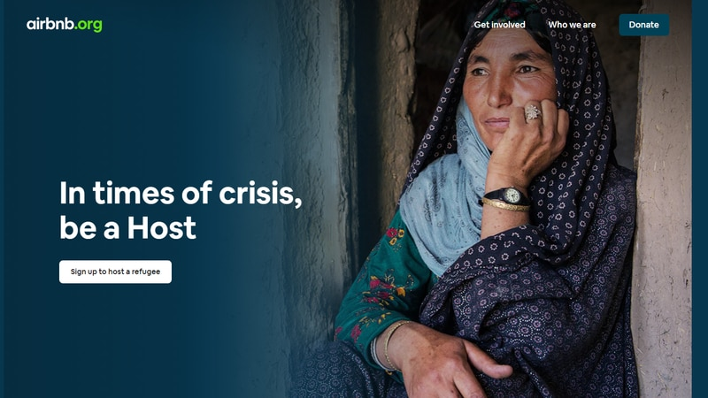 Airbnb.org hopes to host 20,000 refugees from Afghanistan.
