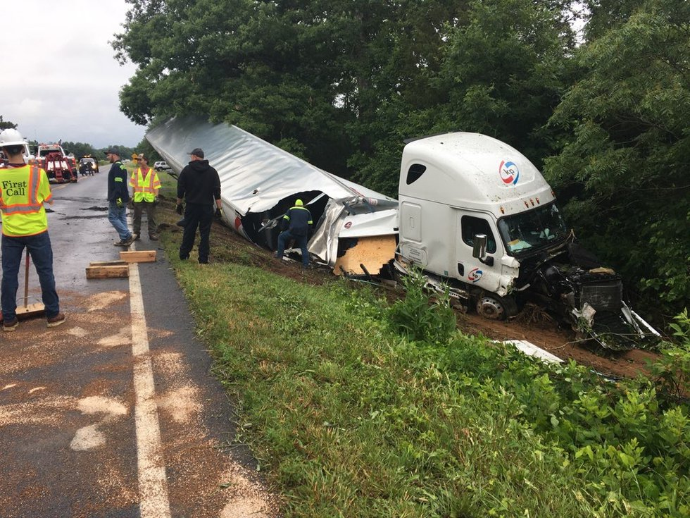Virginia State Police are investigating after a driver was seriously injured in a crash...
