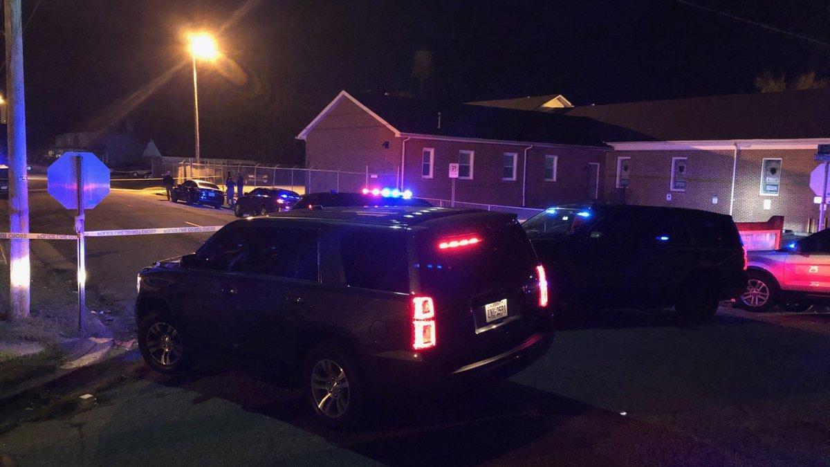 Death investigation underway in Petersburg after 2 people were shot, 1 was killed.