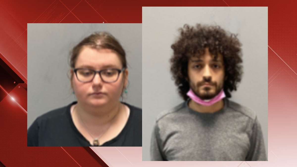 Lindsey Johnson (L) and Nicasio Guzman (R) are being held for the murder of her grandmother,...