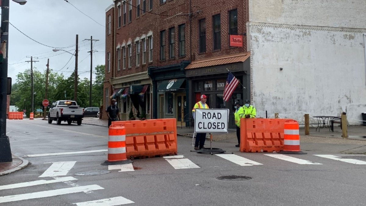 The street will remain closed until Phase Three.