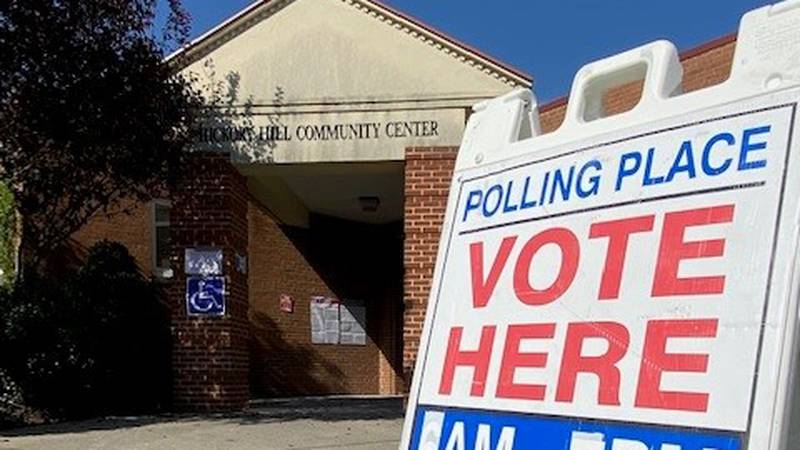 Two new locations to vote early opened Tuesday: Hickory Hill Community Center and inside...