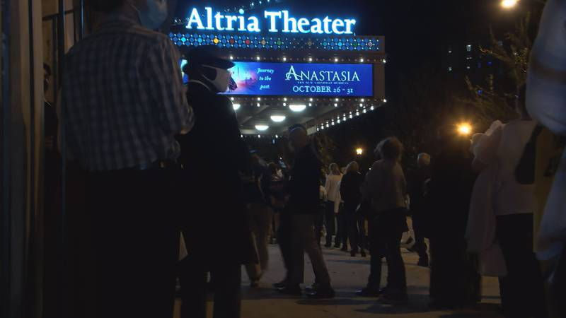 Richmond Broadway is kicking off its return with a performance of Anastasia.  Including Tuesday...