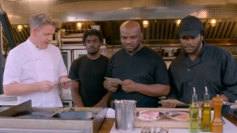 A Richmond restaurant was featured on one of chef Gordon Ramsay's shows.