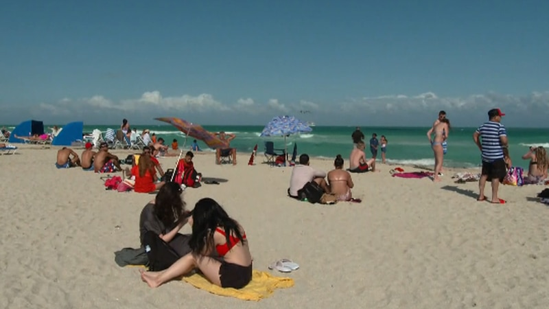 Popular hotspots are already seeing big crowds for Spring Break.