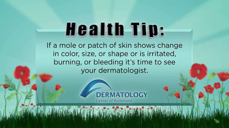 Dermatology Center of Richmond Health Tip: Possible Signs of Skin Cancer