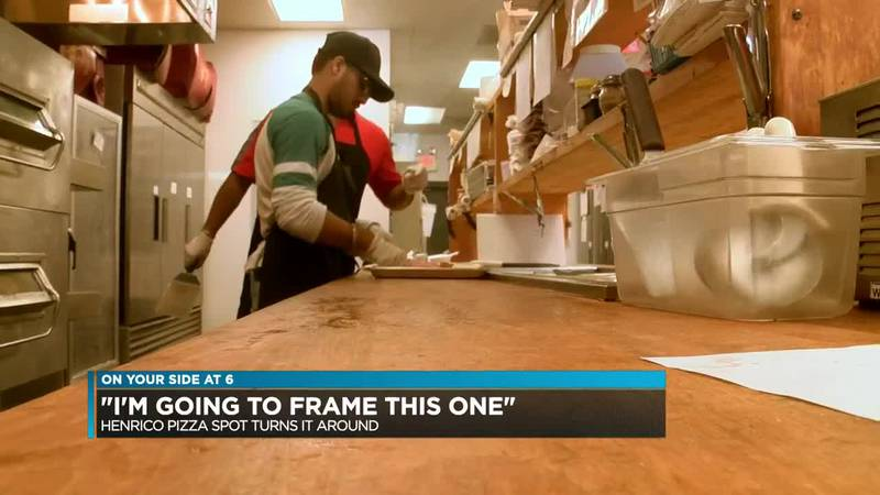 'I'm going to frame this one': Pizza joint drops to zero violations