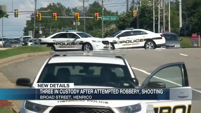 Attempted robbery leads to shootout; 3 in custody
