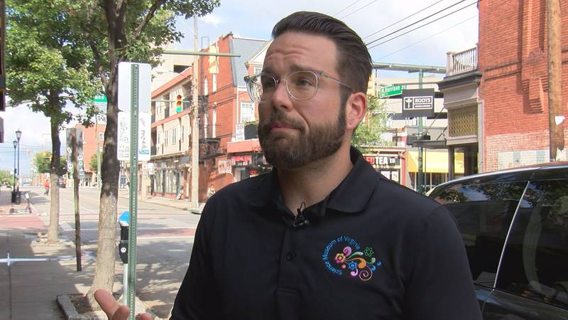 Climate Scientist Jeffery Hoffman says the city's drainage systems are designed for 10 year...
